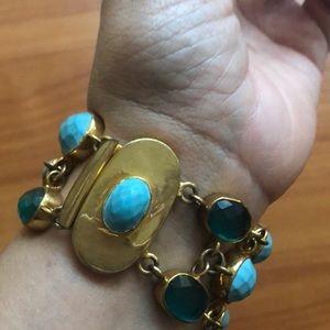 BR turquoise bracelet